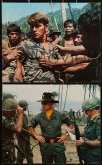 1s018 APOCALYPSE NOW 8 8x10 mini LCs 1979 Martin Sheen, Robert Duvall, Francis Ford Coppola!