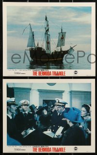 1s022 BERMUDA TRIANGLE 8 color 8x10 stills 1978 hundreds of ships and planes lost forever, sci-fi!