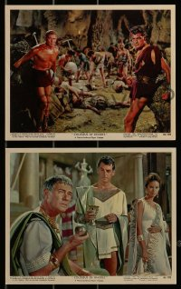 1s004 COLOSSUS OF RHODES 12 color 8x10 stills 1961 Leone's Il colosso di Rodi, Rory Calhoun!