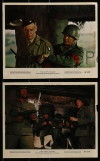 1s027 DIRTY DOZEN 8 color 8x10 stills 1967 Bronson, Brown, Marvin, Cassavetes, w/top cast lineup!