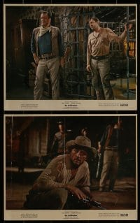 1s029 EL DORADO 8 color 8x10 stills 1966 John Wayne, Robert Mitchum, directed by Howard Hawks!