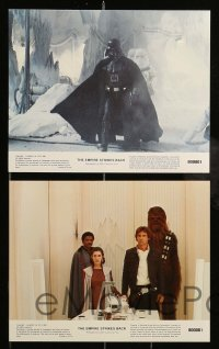 1s030 EMPIRE STRIKES BACK 8 8x10 mini LCs 1980 George Lucas classic, Darth Vader, great images!