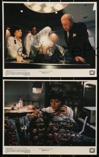 1s034 FLY II 8 8x10 mini LCs 1989 Eric Stoltz, Daphne Zuniga, like father, like son, horror sequel!