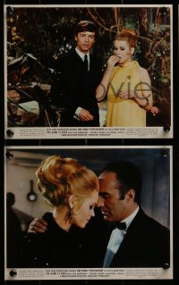 1s011 GAME IS OVER 9 color 8x10 stills 1967 Roger Vadim's La Curee, Jane Fonda, Peter McEnery!