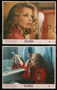 1s037 GLORIA 8 8x10 mini LCs 1980 John Cassavetes directed, cool images of Gena Rowlands!