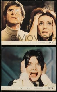 1s040 LEGEND OF HELL HOUSE 8 8x10 mini LCs 1973 Pamela Franklin, Roddy McDowall, spooky!