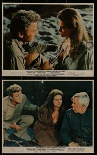 1s013 PROFESSIONALS 9 color 8x10 stills 1966 Burt Lancaster, Lee Marvin, Robert Ryan, Cardinale!