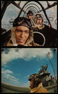 1s007 TORA TORA TORA 12 color deluxe 8x10 stills 1970 great images of the attack on Pearl Harbor!