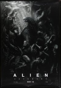 1w058 ALIEN COVENANT DS bus stop 2017 Ridley Scott, Fassbender, HUGE, incredible sci-fi image!
