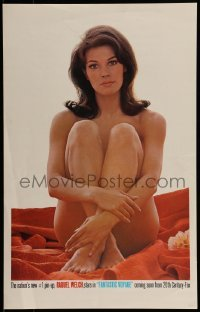 1w015 FANTASTIC VOYAGE special WC 1966 incredible close up of completely naked Raquel Welch, rare!