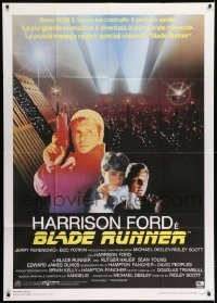 1x018 BLADE RUNNER Italian 1p 1982 Ridley Scott classic, Harrison Ford, Rutger Hauer, Sean Young
