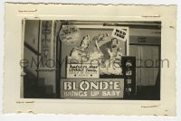 2a005 BLONDIE BRINGS UP BABY 3.5x5.25 photo 1939 America's most lovable family in Dutch again!