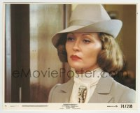 2a047 CHINATOWN 8x10 mini LC #7 1974 best close up of Faye Dunaway, Roman Polanski classic!