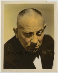 2a049 I WAS AN ADVENTURESS color-glos 8x10 still 1940 great color close-up of Erich von Stroheim!