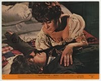 2a052 DRACULA HAS RISEN FROM THE GRAVE 8x10 mini LC #6 1968 Barbara Ewing seducing Barry Andrews!