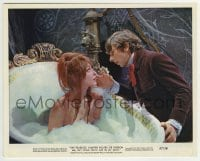 2a056 FEARLESS VAMPIRE KILLERS color 8x10 still 1967 Roman Polanski by sexy bathing Sharon Tate!