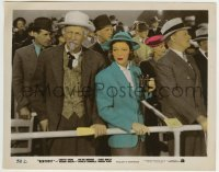 2a067 KENTUCKY color-glos 8x10.25 still 1938 pretty Loretta Young & Walter Brennan at the races!