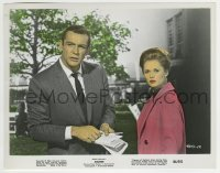 2a071 MARNIE color 8x10.25 still 1964 Sean Connery & Tippi Hedren in Hitchcock's suspenseful mystery