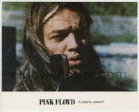 2a075 PINK FLOYD color English FOH LC 1972 incredible close up of David Gilmour performing live!