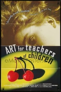 2f062 ART FOR TEACHERS OF CHILDREN 1sh 1995 Jennifer Montgomery directed, cherries!