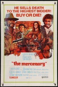 2f586 MERCENARY 1sh 1969 Il Mercenario, cool art of gunslingers Jack Palance & Franco Nero!