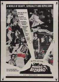 2f599 MONDO BIZARRO 1sh 1966 nubile Arab girls sold, if you think you've seen everything!