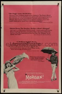 2f604 MORGAN 1sh 1966 Vanessa Redgrave, David Warner, English black comedy!