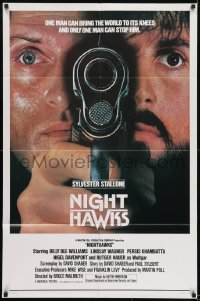2f641 NIGHTHAWKS int'l 1sh 1981 Sylvester Stallone, Billy Dee Williams, Rutger Hauer