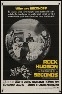 2f002 SECONDS 1sh 1966 Rock Hudson buys himself a new life, John Frankenheimer!