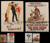 2g013 LOT OF 6 TRADE ADS 1950s-1970s great images from a variety of different movies!