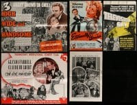 2g012 LOT OF 5 ENGLISH TRADE ADS 1930s-1940s great images from a variety of different movies!