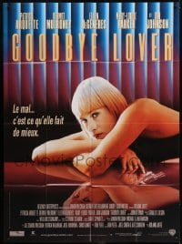 2p821 GOODBYE LOVER French 1p 1999 sexy Patricia Arquette has gun in mirror image!
