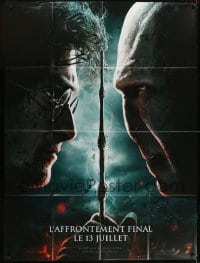 2p829 HARRY POTTER & THE DEATHLY HALLOWS PART 2 teaser French 1p 2011 Radcliffe vs Ralph Fiennes!