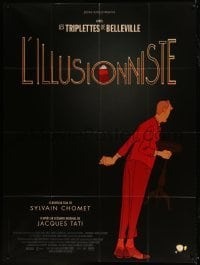 2p843 ILLUSIONIST French 1p 2010 cool magician cartoon with a screenplay by Jacques Tati!
