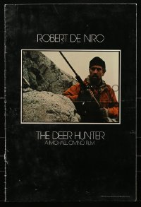 2p167 DEER HUNTER promo brochure 1978 Michael Cimino, Robert De Niro, Christopher Walken