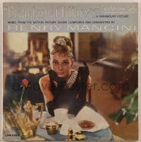 2p193 BREAKFAST AT TIFFANY'S 33 1/3 RPM soundtrack Canadian record 1961 Audrey Hepburn, Mancini