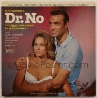 2p198 DR. NO 33 1/3 RPM soundtrack Canadian record 1963 Sean Connery as James Bond, Ursula Andress!