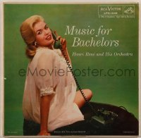 2p207 JAYNE MANSFIELD 33 1/3 RPM record 1955 on the cover of Henri Rene's Music For Bachelors!