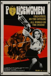 2r750 POLICEWOMEN 1sh 1974 Sondra Currie is cold steel on the outside, all woman inside!