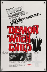 2r752 POSSESSED 1sh 1976 Demon Witch Child, the greatest shocker of them all!