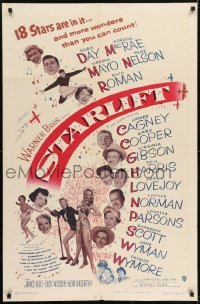 2r852 STARLIFT 1sh 1951 Gary Cooper, James Cagney, Doris Day, Virginia Mayo & all-star cast!