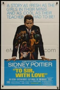 2r918 TO SIR, WITH LOVE 1sh 1967 Sidney Poitier, Geeson, directed by James Clavell!