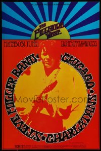 2w080 STEVE MILLER BAND/CHICAGO TRANSIT AUTHORITY/CHARLATANS 14x21 music poster 1968 Tuten art!