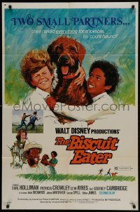 2x270 BISCUIT EATER revised 1sh 1972 George Spell, Johnny Whitaker & Walt Disney dogs!