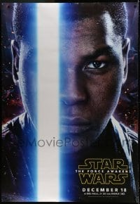 2x038 FORCE AWAKENS DS bus stop 2015 Star Wars: Episode VII, different c/u of Finn, rare!