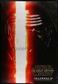 2x039 FORCE AWAKENS DS bus stop 2015 Star Wars: Episode VII, different c/u of Kylo Ren, rare!