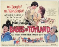 2x414 BABES IN TOYLAND TC 1961 Walt Disney, Ray Bolger, Tommy Sands, Annette Funicello, musical!