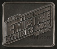 2x027 EMPIRE STRIKES BACK 3x3 paperweight 1979 George Lucas classic, given only to cast & crew