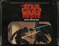 2x024 STAR WARS art portfolio w/ 21 prints 1980 contains rare McQuarrie art that was never used!