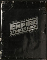 2x028 EMPIRE STRIKES BACK foil presskit w/ 18 stills 1980 George Lucas, great images & star portraits!
